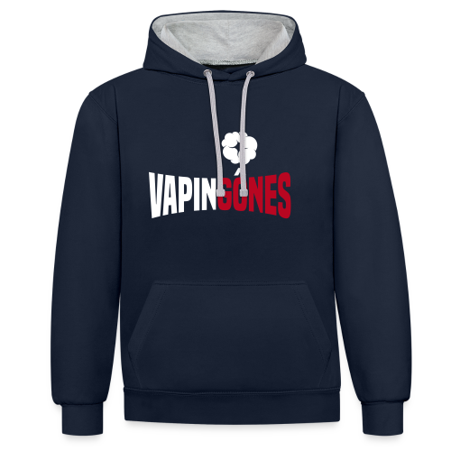 VAPING GôNES - Sweat-shirt contraste