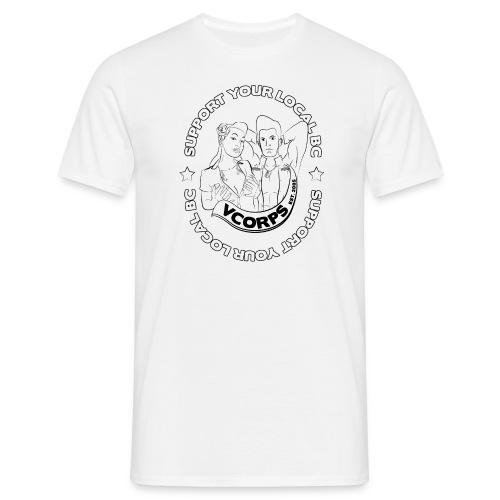 Regular White Local BC - Men's T-Shirt