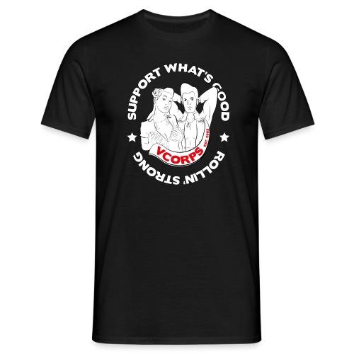 Regular Black Rollin' Strong - Men's T-Shirt