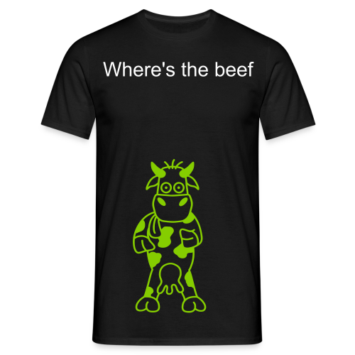 Where's the beef top - Men's T-Shirt