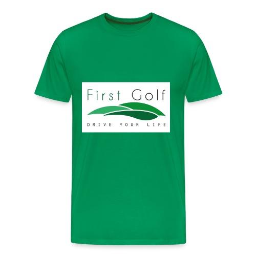 First Golf - Drive Your Life - Männer Premium T-Shirt