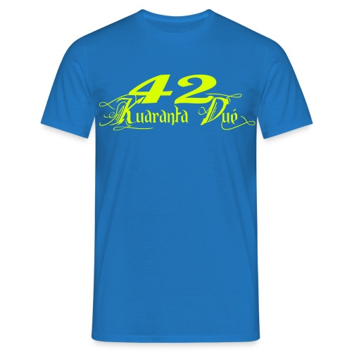 T KD jaunefluo - T-shirt Homme