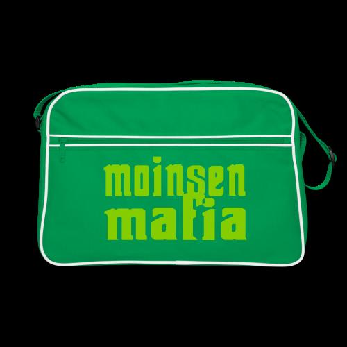 Moinsen Mafia Retro Tasche grün - Retro Tasche
