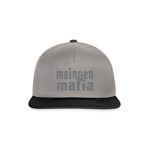 Moinsen Mafia Cap grau - Snapback Cap