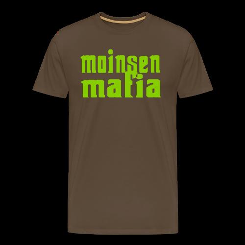 Moinsen Mafia Shirt braun - Männer Premium T-Shirt