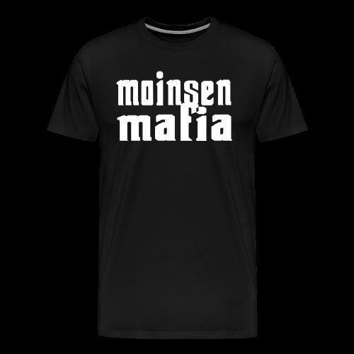Moinsen Mafia Shirt schwarz - Männer Premium T-Shirt