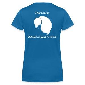 T-shirt True Love - Ekologisk T-shirt med V-ringning dam från Stanley & Stella