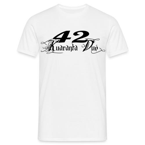 T Classic blanc/noir - T-shirt Homme