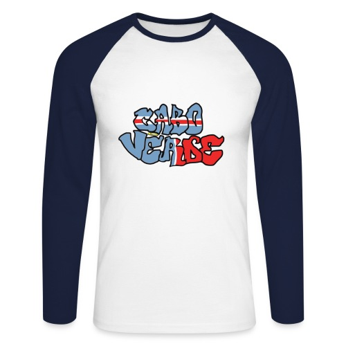 Cabo Verde - T-shirt baseball manches longues Homme