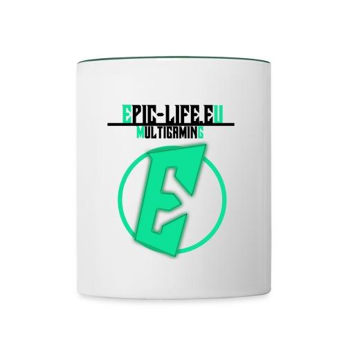 EpicLife Tasse (Green) - Tasse zweifarbig