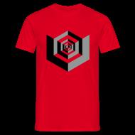 T-Shirts ~ Men's T-Shirt ~ CUBES optical illusion