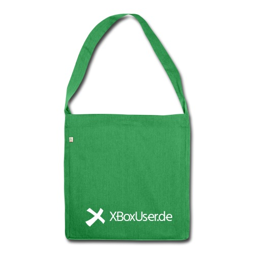 XBoxUser Bag Greeny - Schultertasche aus Recycling-Material
