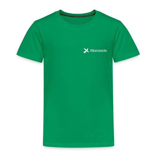 XBoxUser Shirt Greeny Kids - Kinder Premium T-Shirt