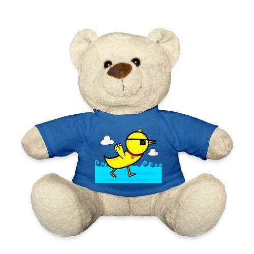 Deal With It Duck Teddy Bear - Teddy Bear