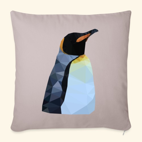 Polygon Pinguin - Sofakissenbezug 44 x 44 cm