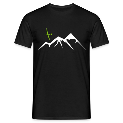 Mountain Soaring (standard quality) - Männer T-Shirt