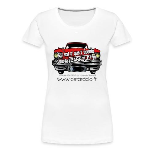 T-Shirt Femme de QEDB - T-shirt Premium Femme