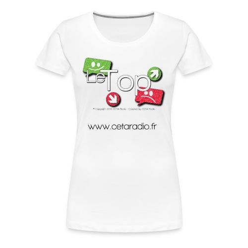 T-Shirt Femme le TOP - T-shirt Premium Femme