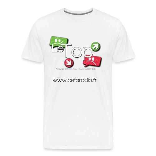 T-Shirt Homme le TOP - T-shirt Premium Homme