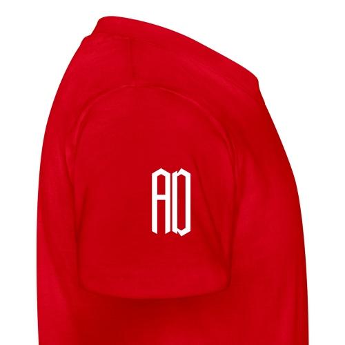 AD Enfant  (9 à 14 ans) ROUGE & BLANC - T-shirt Ado