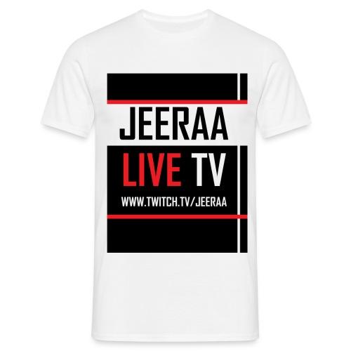 JeeRaa Live TV T-Shirt - Männer T-Shirt