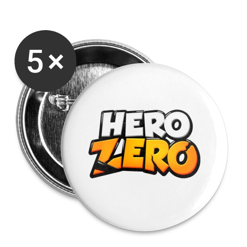 Hero Zero Buttons - Buttons small 1''/25 mm (5-pack)