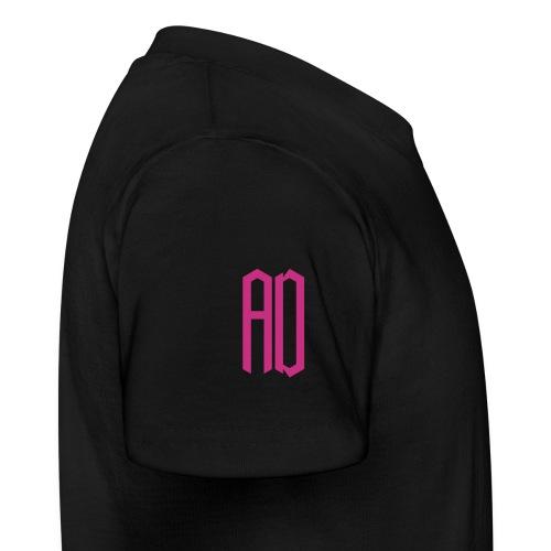 AD Enfant  (9 à 14 ans) NOIR & ROSE - T-shirt Ado