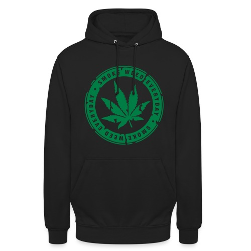 SMOKE-WEED-EVERYDAY Pullover - Unisex Hoodie
