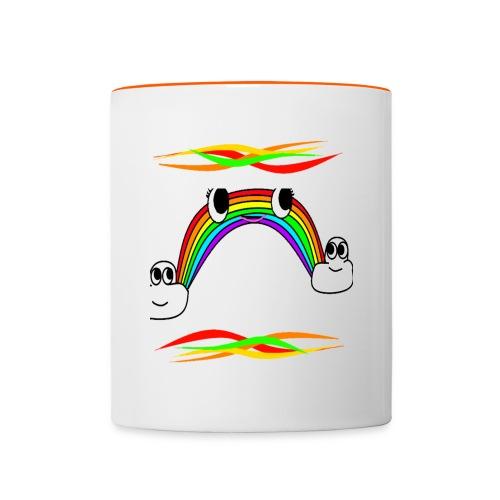 Rainbow Mug - Contrasting Mug