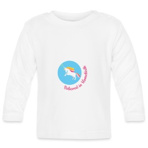 Believed in homebirth unicorn long sleeve top - Baby Long Sleeve T-Shirt