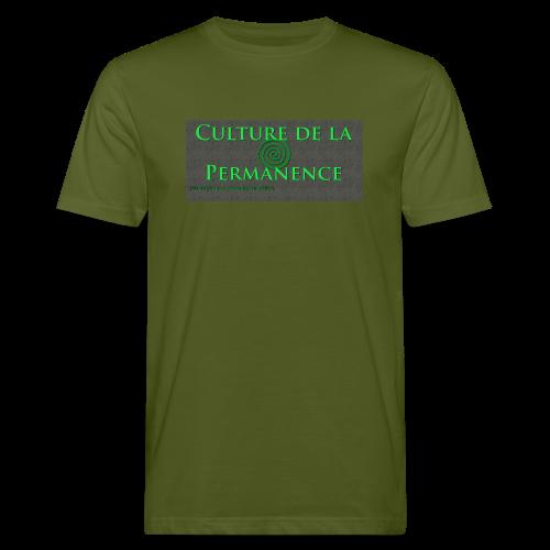 Bio Permashirt Culture de la Permanence - T-shirt bio Homme