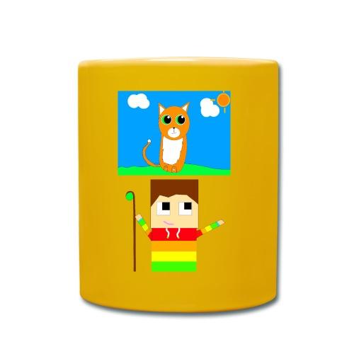 Kiwi And Max Yellow Mug - Full Colour Mug