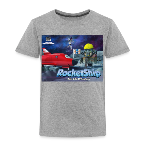 RocketShip T-Shirt - Dark Side Of The Moon- Kids' Premium T-Shirt - Kids' Premium T-Shirt