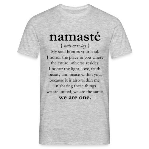 namaste_3_uomo - Maglietta da uomo