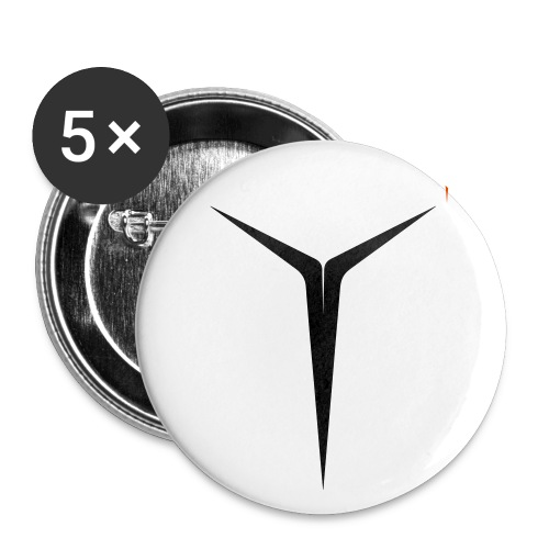 YOUNIVERSAL COLOR - Buttons klein 25 mm (5er Pack)