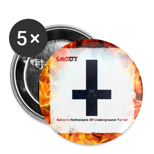 Satan's Hellraisers Of Underground Terror Buttons - Rintamerkit pienet 25 mm