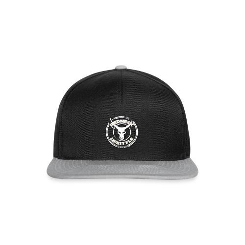 Redneck Lifestyle - Snapback Cap Schwarz Grau - Snapback Cap