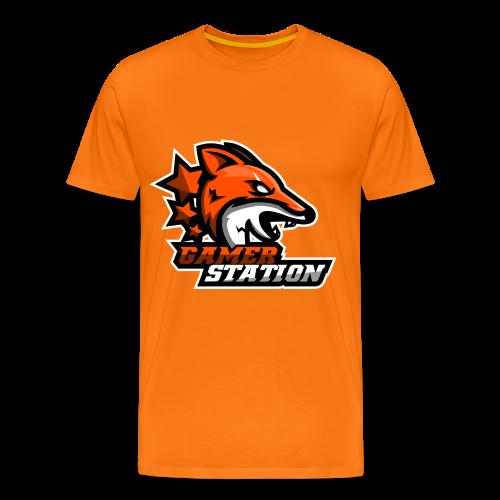 GamerStation Heren  - Mannen Premium T-shirt