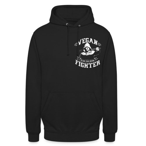 Vegan fighter Hoodie - Sweat-shirt à capuche unisexe