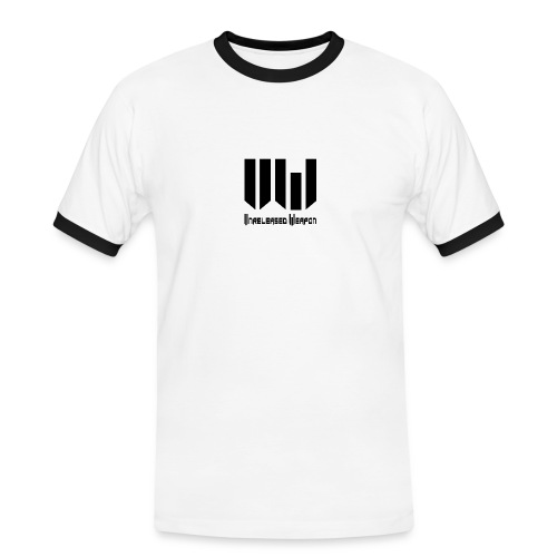 Unreleased Weapon Shirt Black&White - T-shirt contrasté Homme