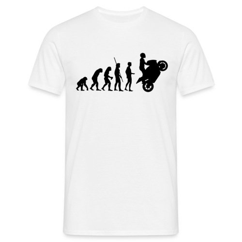 Rider Evolution - Tee shirt Homme Recto / Verso - T-shirt Homme