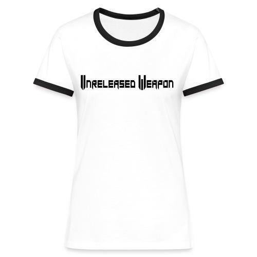 Tee Shirt Contaste Femme UW - T-shirt contrasté Femme