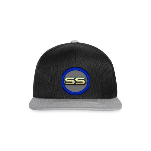 syresnipz logo on a a snapback cap - Snapback Cap