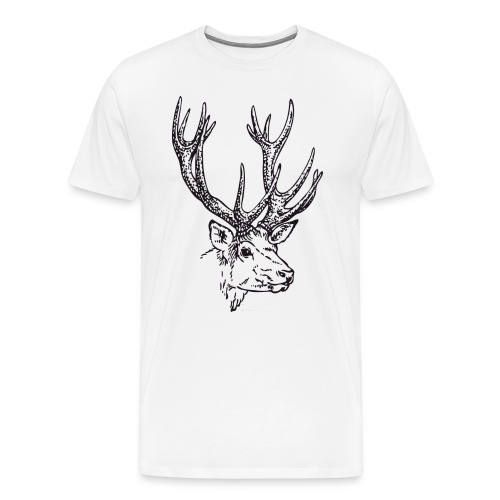 Tee-shirt Cerf - T-shirt Premium Homme
