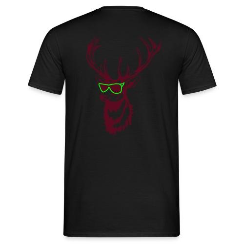 Hirsch Shirt  - Männer T-Shirt