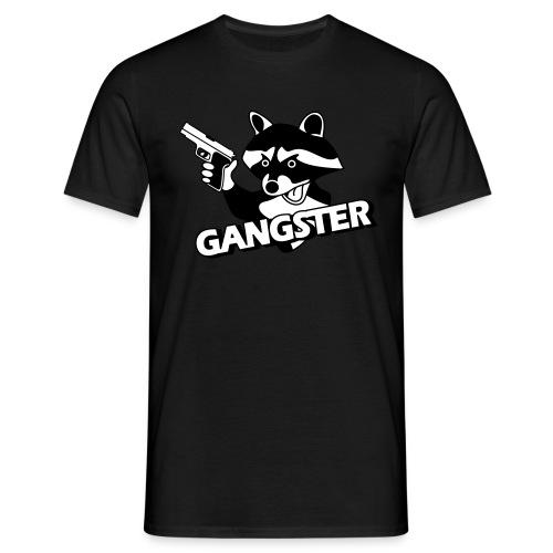 Racoon Gangster - Männer T-Shirt