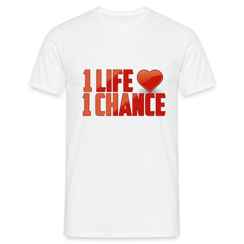 Life / Chance ? - T-shirt Homme