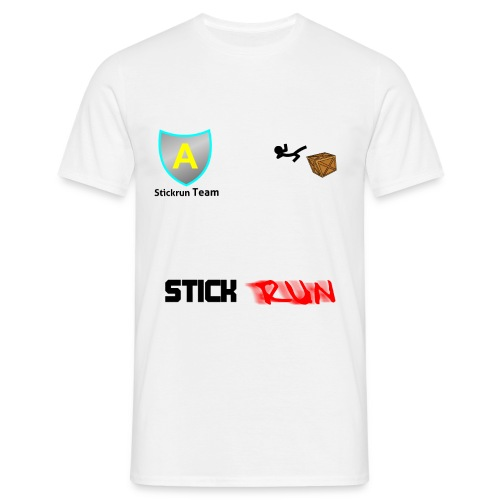 Stick Run Team shirt - Männer T-Shirt