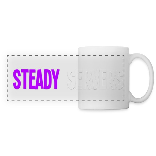Steady Servers | Mug - Panoramic Mug