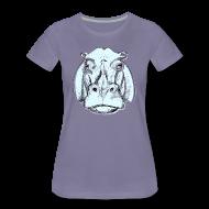 T-Shirts ~ Frauen Premium T-Shirt ~ hippo